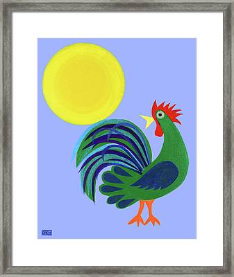 Year Of The Rooster Framed Print