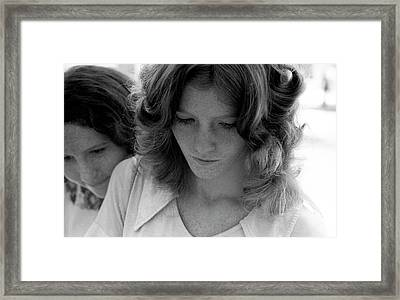Yearbook Signing, 1972, Part 2 Framed Print