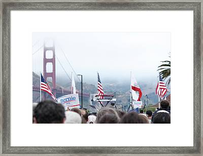 Yearn The Bern Framed Print by Nick Mattea