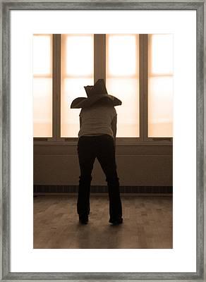 Yehar Framed Print by Jez C Self