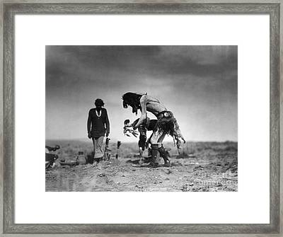 Yeibichai Ceremony, C1905 Framed Print by Granger