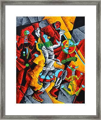 Ye'ii Bicheii Dancer Number Two Framed Print