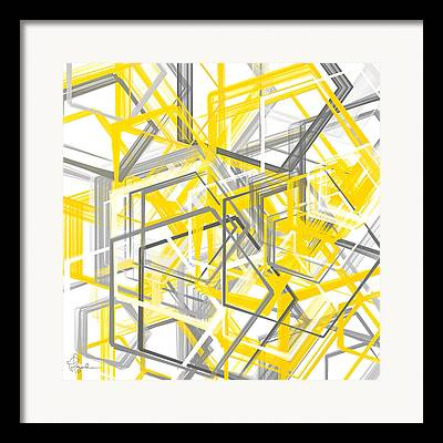 Geometric Artwork Framed Prints
