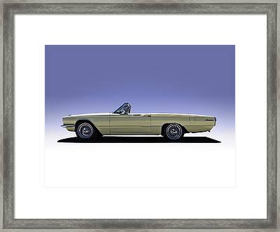 Yellow Bird Framed Print by Douglas Pittman