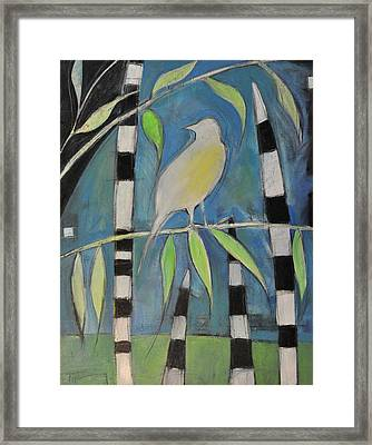Yellow Bird Up High... Framed Print by Tim Nyberg
