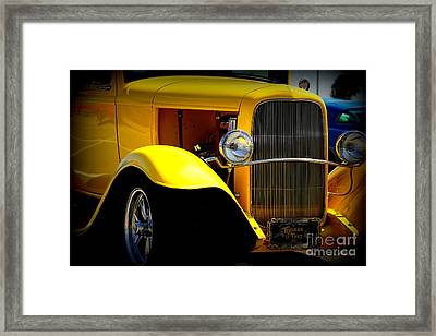 Yellow Boy Framed Print