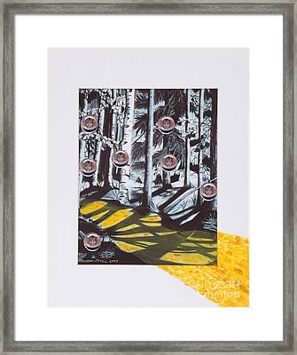 Yellow Brick Road Framed Print by Stella Sherman