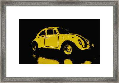 Yellow Bug Framed Print