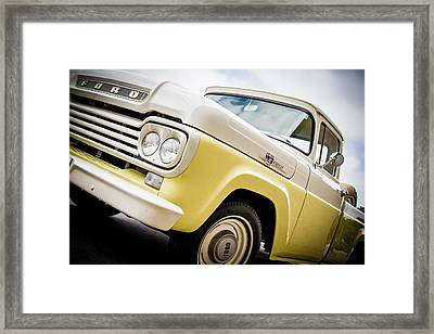 Yellow Cream Dreamsicle  Framed Print by Off The Beaten Path Photography - Andrew Alexander