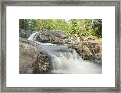 Yellow Dog Falls 4234 Framed Print by Michael Peychich