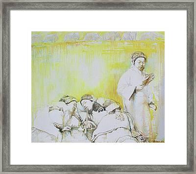 Yellow Dream Framed Print by Tanya Ilyakhova