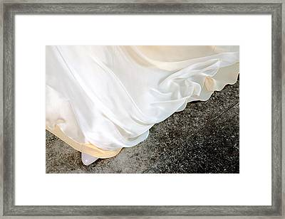 Yellow Dress #9936 Framed Print