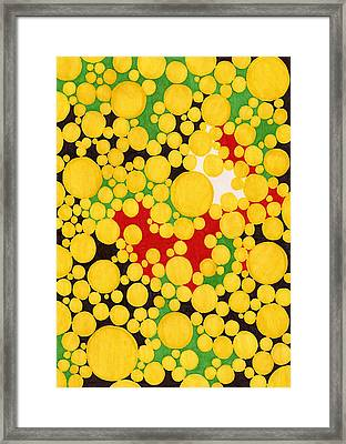 Yellow Fever Framed Print by Teddy Campagna