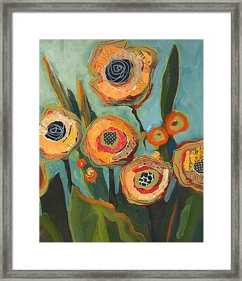 Yellow Flowers No2 Framed Print