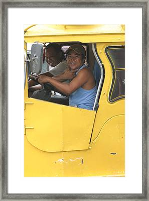 Yellow Gwapo Framed Print by Jez C Self