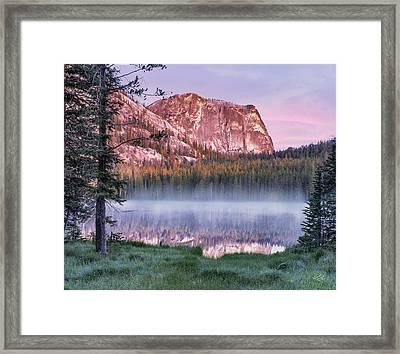 Yellow Jacket Lake Framed Print