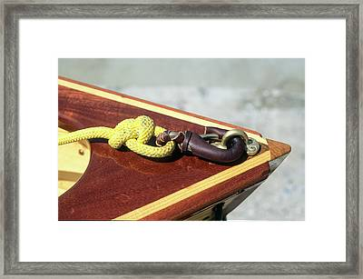 Yellow Line Framed Print