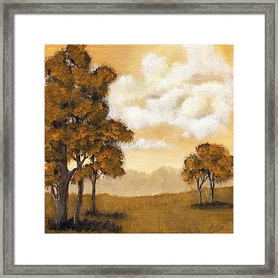 Yellow Mood Framed Print