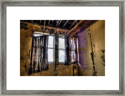 Yellow Room Framed Print