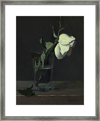 Yellow Rose No. 3 Framed Print