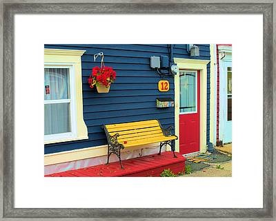 Yellow Seat Framed Print