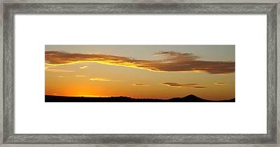 Yellow Sky Three Framed Print by Ana Villaronga