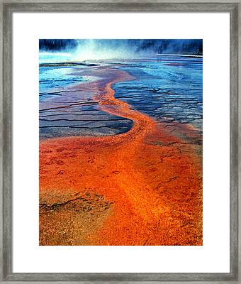 Yellowstone 1 Framed Print