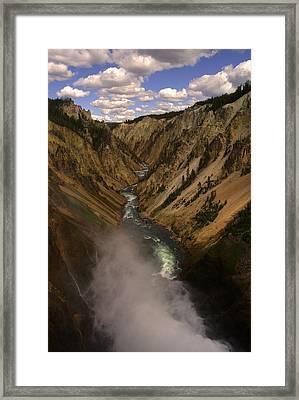 Yellowstone Grand Canyon Framed Print by Patrick  Flynn