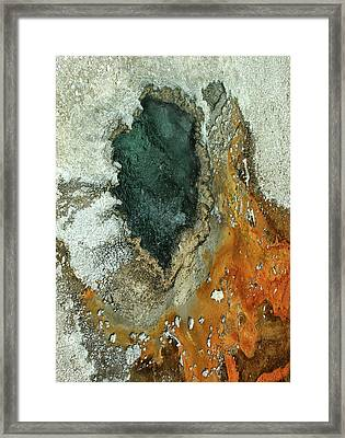 Yellowstone Landscape Framed Print
