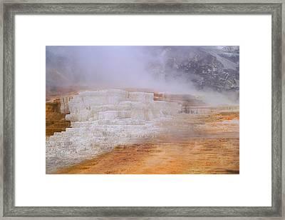Yellowstone Magic Framed Print