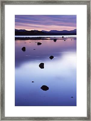 Yellowstone Morning Framed Print by Eric Foltz