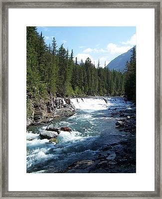 Yellowstone River Framed Print by Constance Drescher