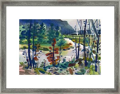 Yellowstone River Framed Print by Donald Maier