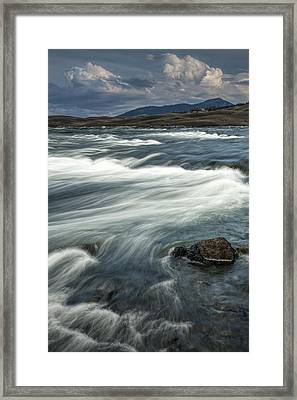 Yellowstone River Framed Print by Randall Nyhof