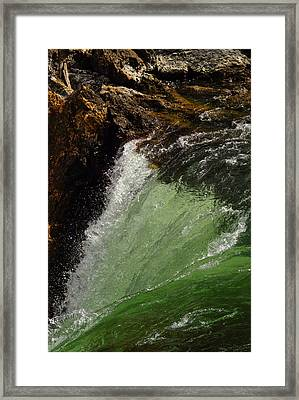 Yellowstone Upperfalls Framed Print by Patrick  Flynn