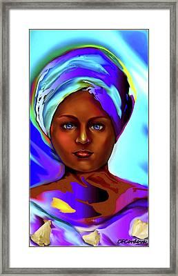 Yemaya -mother Of The Orishas Framed Print
