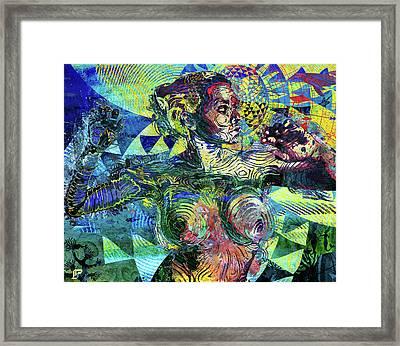 Yemoja Framed Print by LP AEkili Ross