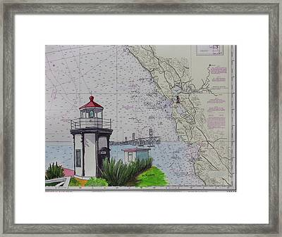 Yerba Buena Island Lighthouse Framed Print