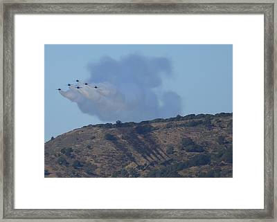 Yes Baby, Angels Do Make Shadows Framed Print