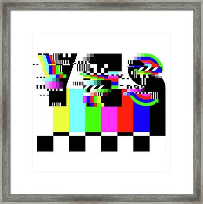 Framed Print featuring the digital art YES by Bee-Bee Deigner