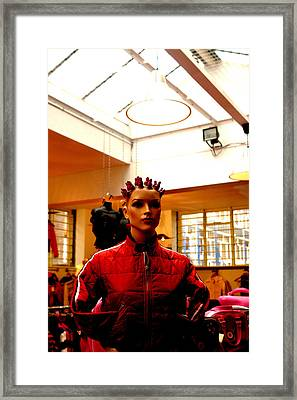 Yes Can I Help You Framed Print by Jez C Self