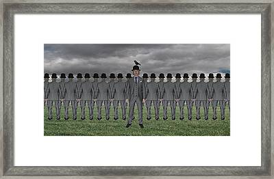 Yes, We Are All Individuals... Framed Print