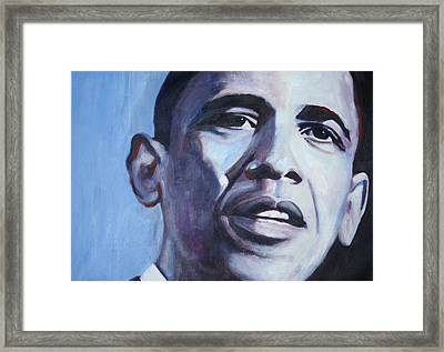 Yes We Can Framed Print
