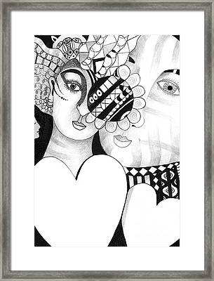 Yes We Do Framed Print by Helena Tiainen