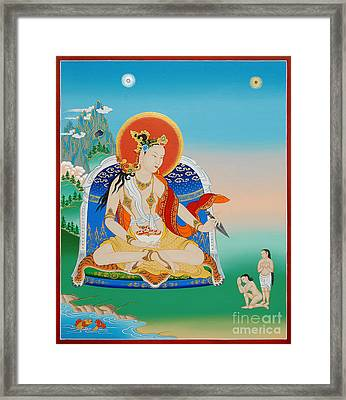 Yeshe Tsogyal Framed Print