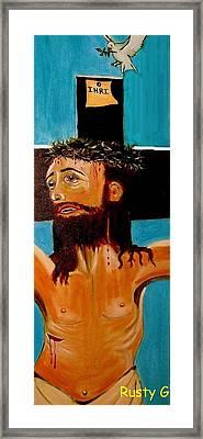 Yeshua Framed Print