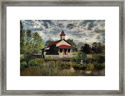 Yesterday When I Was Young .... Framed Print by Bob Kramer