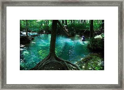 Yesterday, When I Was Young Framed Print