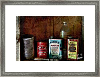 Framed Print featuring the photograph Yesterdays by Alana Ranney