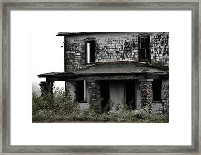 Yesterdays Front Porch Framed Print